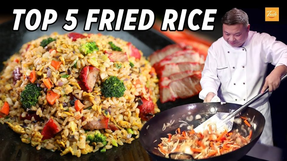 Top 5 Fried Rice by Masterchef l How To l Yummy Chinese Food