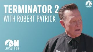"Iconic ""Terminator 2"" Locations w/ the T-1000, Robert Patrick 