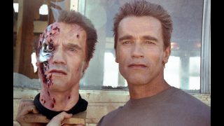 Learn about the FX for the T-800 in TERMINATOR 2 – Behind-the-Scenes