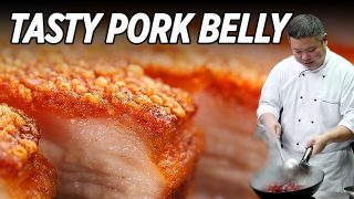 Easy Crispy Pork Belly Cooking by Masterchef | 脆皮燒肉 • Taste Show