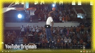 Kevin Durant Walks On Air in Slow Motion